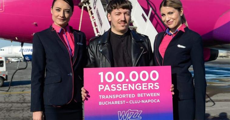 Wizz Air Bucharest-Cluj-Napoca
