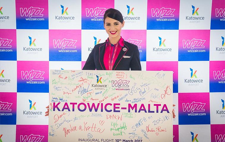 Wizz Air Katowice Malta