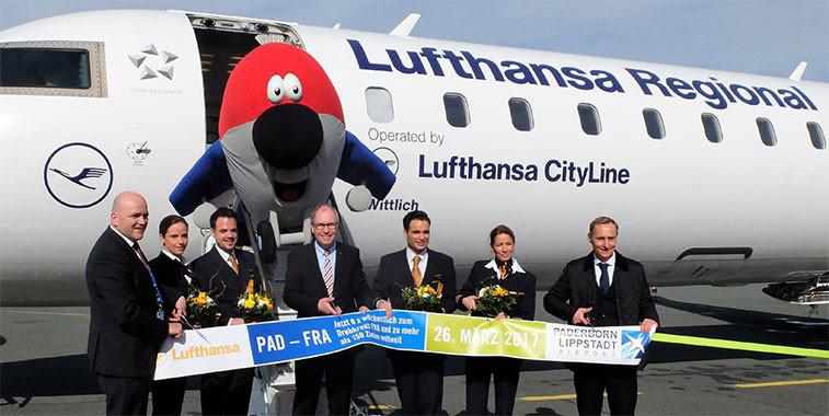 Lufthansa adds links to Frankfurt hub