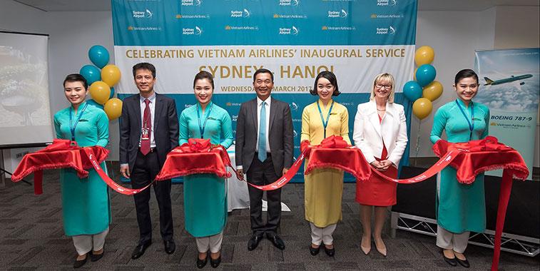 Vietnam Airlines starts second service to Sydney