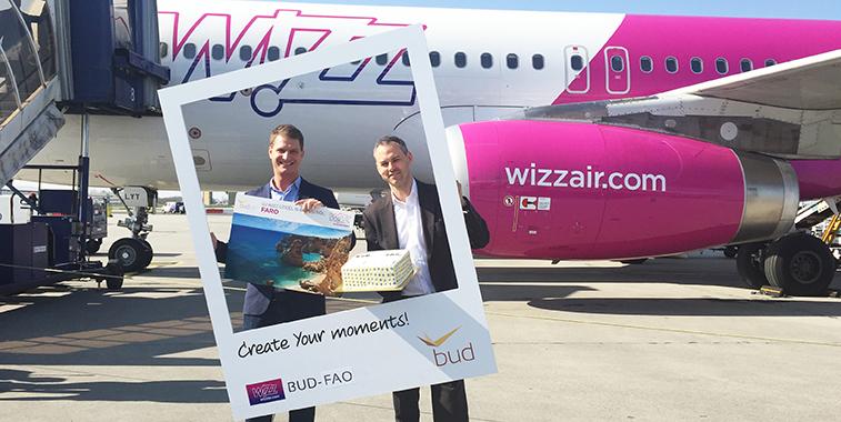 Budapest Airport Faro Wizz Air