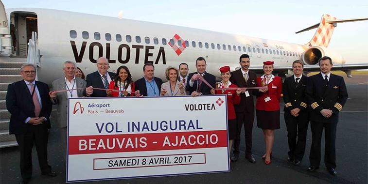Volotea Paris Beauvais to Ajaccio
