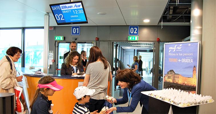 Blue Air Turin Oradea