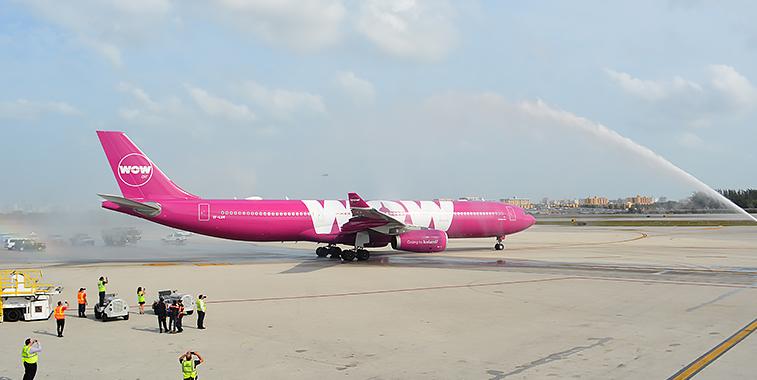 WOW air Miami