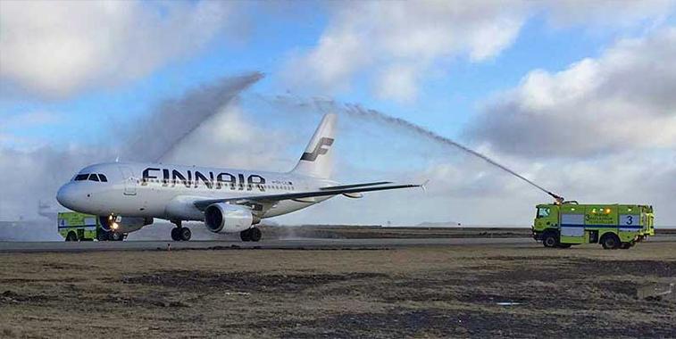 Finnair Helsinki Reykjavik/Keflavik