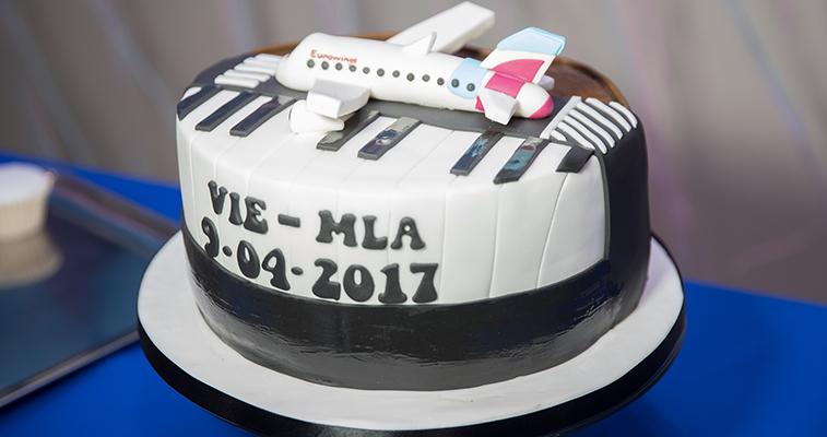 Eurowings Malta Vienna