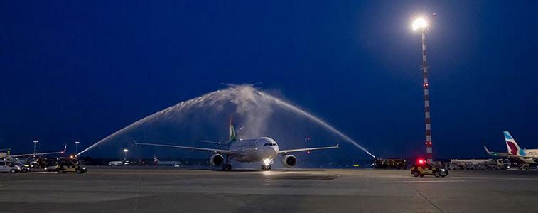 Air Seychelles Seychelles to Duesseldorf FTWA