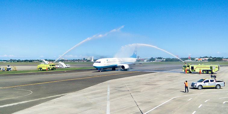 Xiamen Airlines FTWA at Cebu