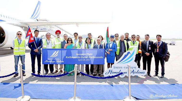 Himalaya Airlines launches Kathmandu to Dubai route
