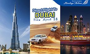 Himalaya Airlines makes Dubai its fourth destination