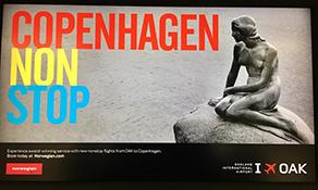 Norwegian now links Copenhagen to Oakland