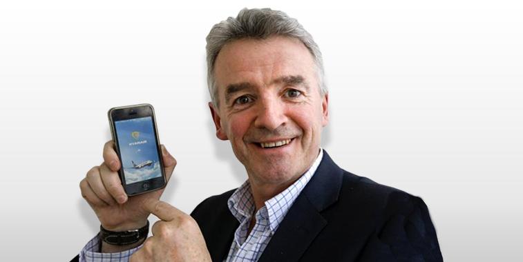 Michael O'Leary Ryanair