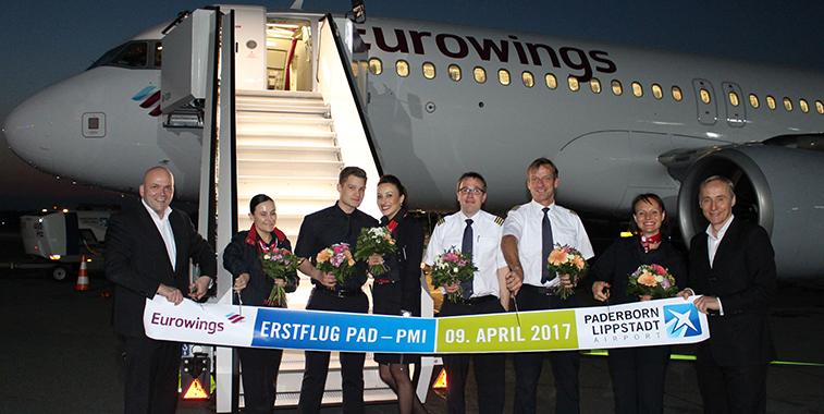 Eurowings Paderborn Airport Palma de Mallorca