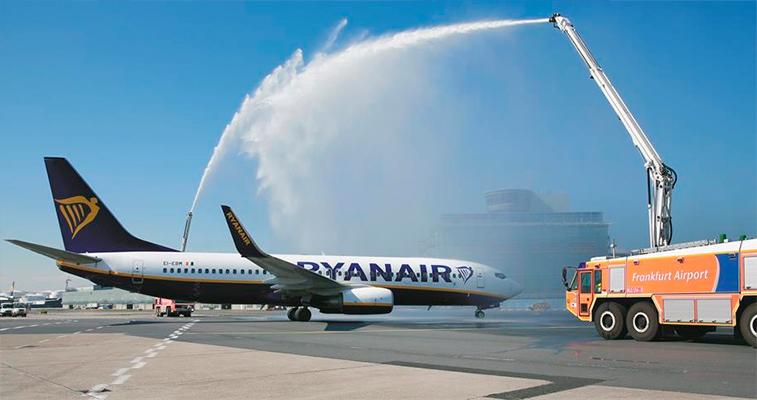 Ryanair Frankfurt base opening
