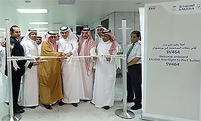 Saudi Arabian Airlines launches shortest international route