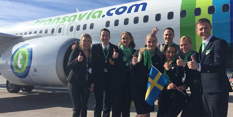 Transavia Stockholm Arlanda