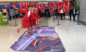 Virgin Atlantic Airways starts US duo from Manchester