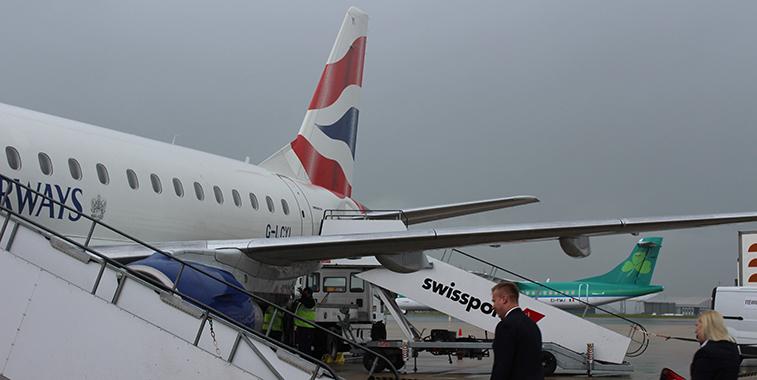 Bristol Airport British Airways Aer Lingus