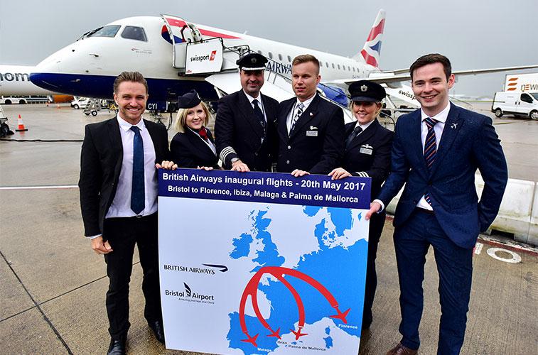 British Airways returns to the UK regions with European flights