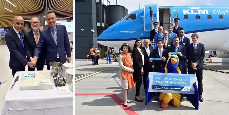 KLM Amsterdam to Gdansk