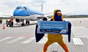 KLM begins flights to Gdansk, Graz and Porto