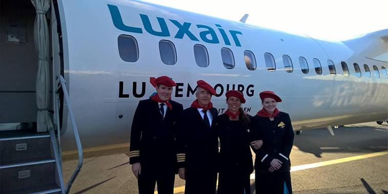 Luxair Luxembourg Biarritz