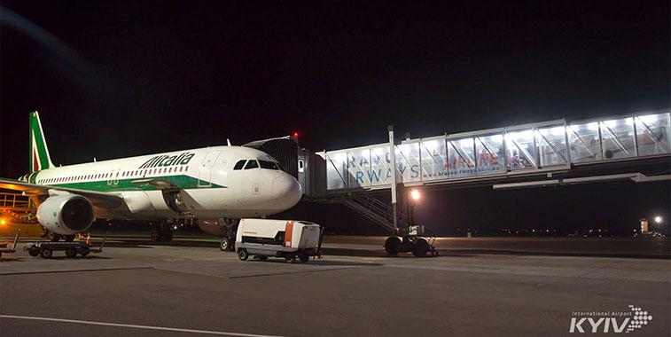 Alitalia launches Rome to Kiev route