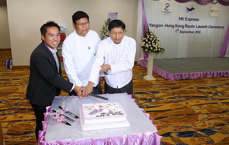 HK Express begins Hong Kong to Yangon route
