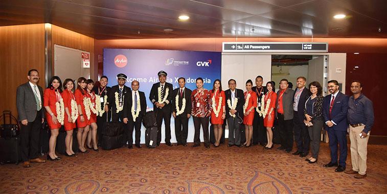 AIrAsia X Indonesia starts Bali to Mumbai route