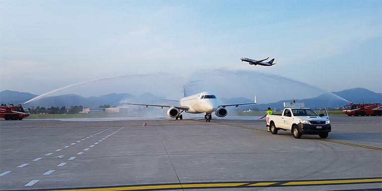 Arkia Israeli Airlines launches Tel Aviv to Milan Bergamo service