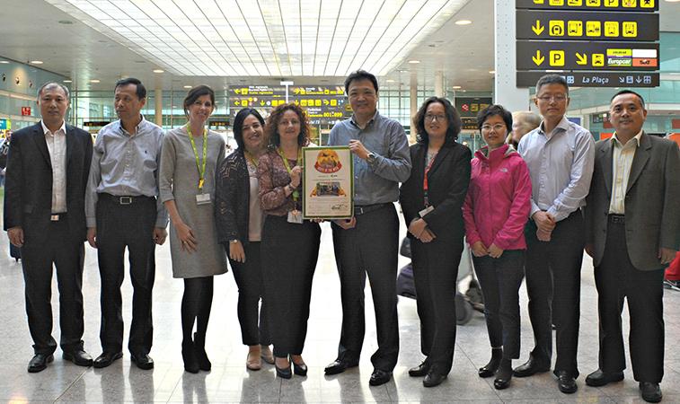 Air China Barcelona