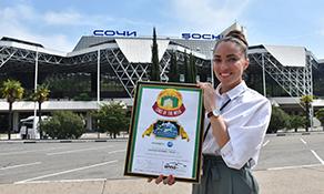 Sochi/Adler celebrates winning anna.aero's Cake of the Week