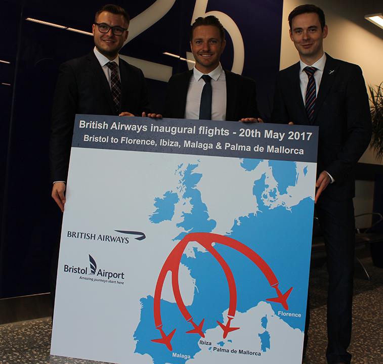 Bristol Airport British Airways Florence