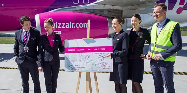 Wizz Air Olsztyn-Mazury