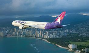 Hawaiian Airlines breaks nine million passenger barrier at Honolulu; traffic up 43% in ten years as international market share grows