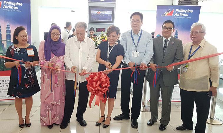 Philippine Airlines resumes Manila to Kuala Lumpur flights.