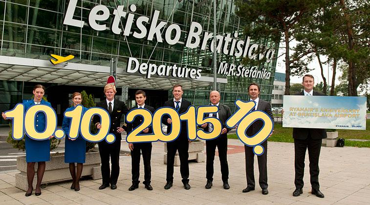 Ryanair is biggest airline in Slovakia