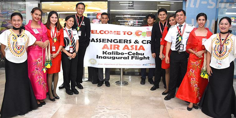 Philippines AirAsia launches Cebu to Kalibo route.