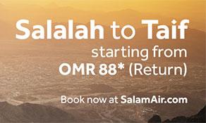 SalamAir sets off for Taif from Salalah
