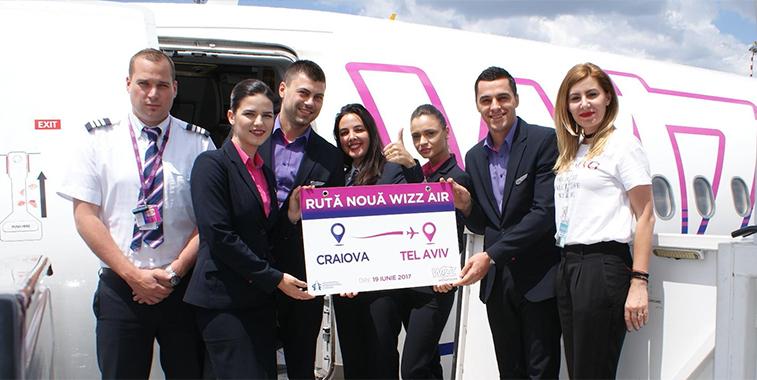 Wizz Air Craiova Tel Aviv