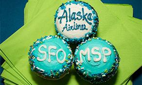 Alaska Airlines serenades Minneapolis-St. Paul with San Francisco