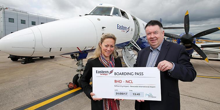 Eastern Airways Newcastle Belfast City