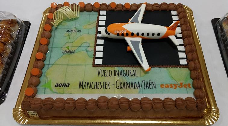 easyJet Granada Manchester