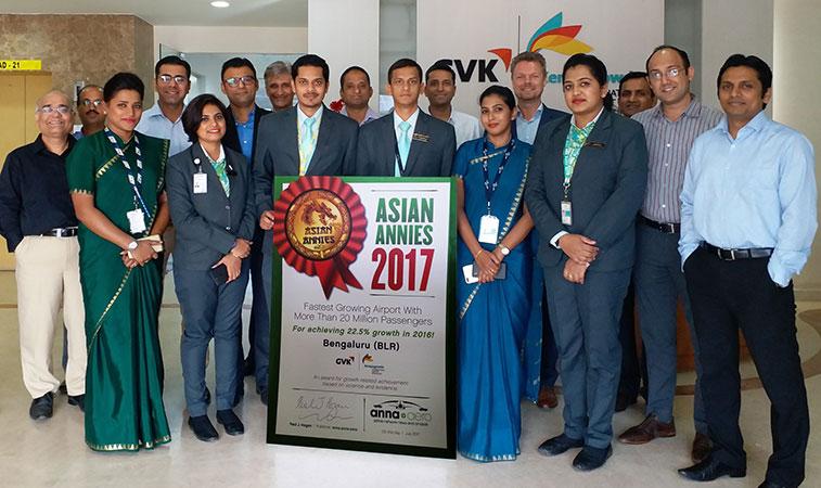 Bengaluru Airport wins Asian ANNIES Award 2017