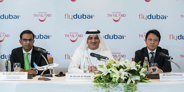 flydubai launches Dubai to Bangkok flights
