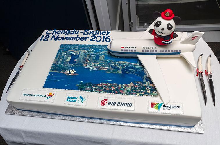 Air China launches Chengdu to Sydney Australia