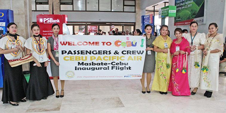Cebu Pacific Air links Cebu to Masbate
