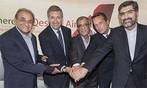 Qeshm Air celebrates maiden flight on Hamburg-Tabriz route
