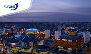 FlyOne opens flights to Birmingham