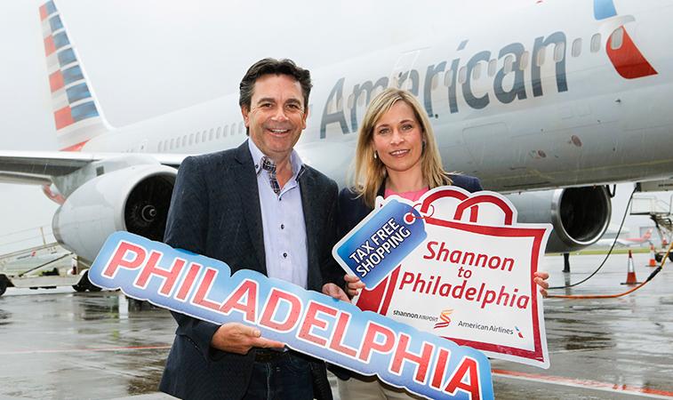 American Airlines Shannon Philadelphia